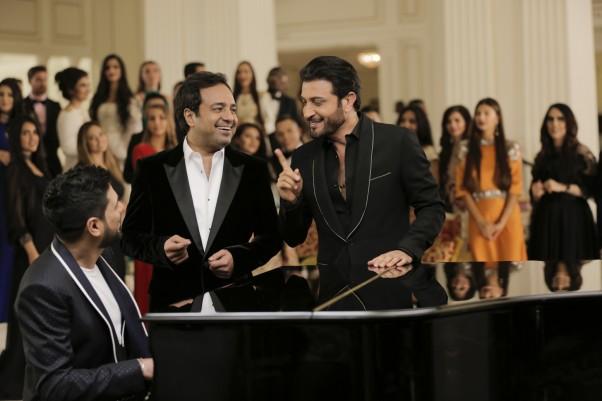 Music Nation - Rashid Al Majid - Majid Al Mohandis - Waleed Al Shami - Trio Song Ana Ana (3)