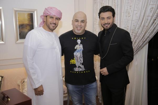 Music Nation - Rashid Al Majid - Majid Al Mohandis - Waleed Al Shami - Trio Song Ana Ana (6)