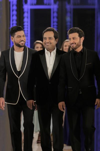 Music Nation - Rashid Al Majid - Majid Al Mohandis - Waleed Al Shami - Trio Song Ana Ana (7)