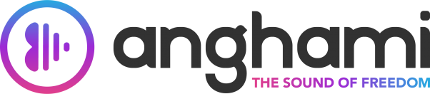 Anghami English Logo