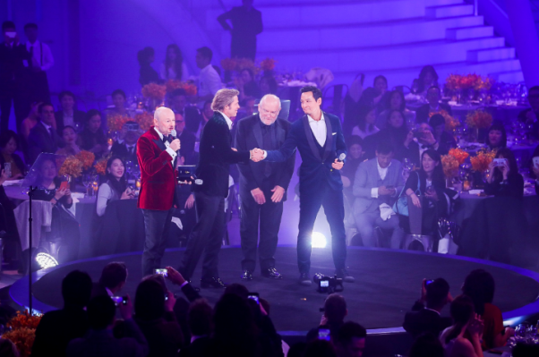 Image 2 - November 20th 2018, Breitling Gala Night Beijing Gala Dinner Breitling Squad on Stage from