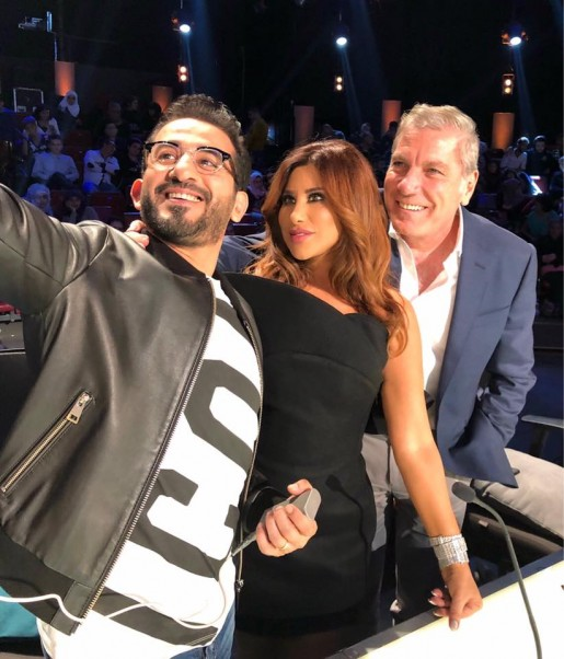 Music Nation - Najwa Karam - Ahmad Helmy - Ali Jaber - Arabs Got Talent 6 Program (1)