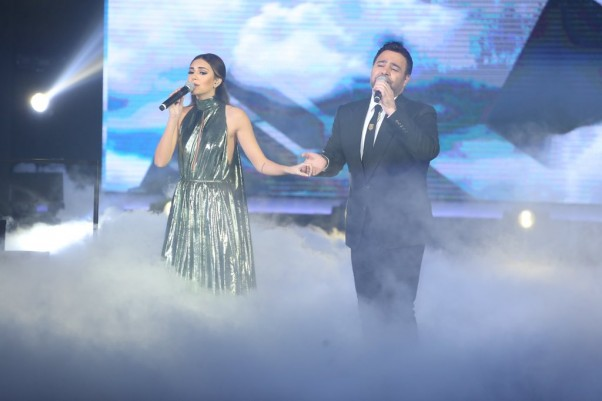 Music Nation - Assi Al Hallani & Valerie Abou Chacra - Celebrity Duets