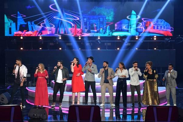 MBC1, MBC MASR, MBC IRAQ, MBC5- the Voice S5- Final Round Ep 1- Medley (1)