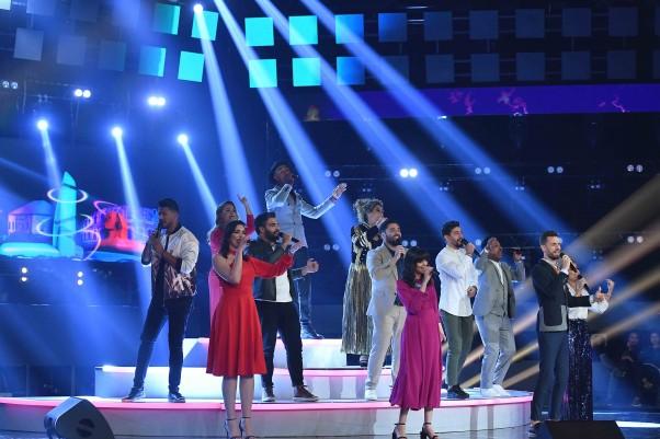 MBC1, MBC MASR, MBC IRAQ, MBC5- the Voice S5- Final Round Ep 1- Medley (2)
