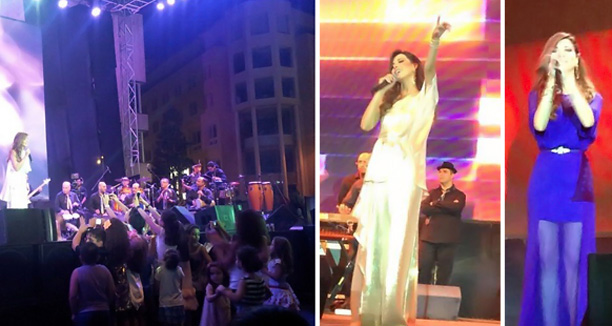 Music Nation - Nancy Ajram - Beirut Souks (1)