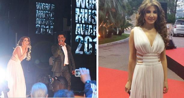 Music Nation - Nancy Ajram - World Music Awards (5)