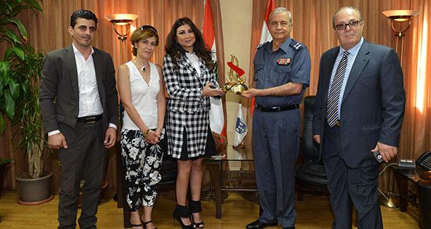 Music Nation - Maria Maalouf honor general basbous