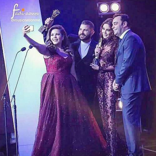 Music Nation - Cyrine Abdel Nour - Hass Ghadar - Khaled Agha - Riwa Jarta2 - Murex D'or (6)
